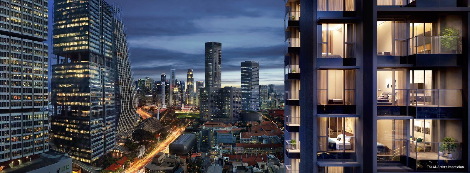 The-M-condo-bugis-mrt-singapore