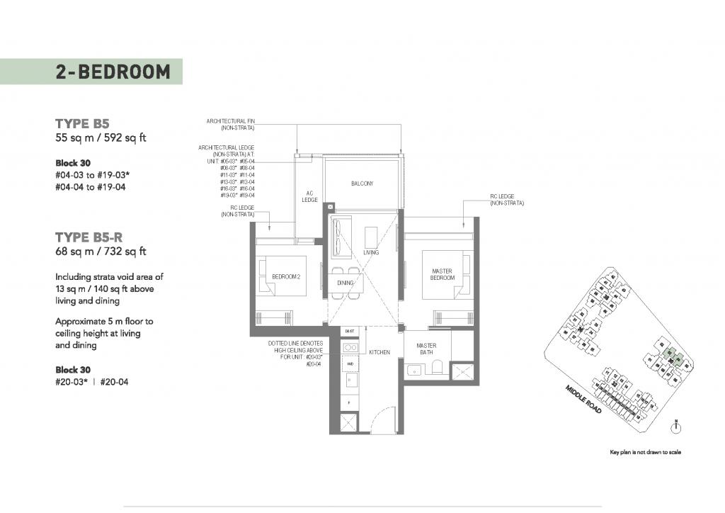 Floor Plan - The M Condo - 61001908 Singapore